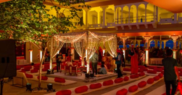 Ipshita Sascha Wedding At Fort Fatehgarh Indian Wedding Decorations Wedding Mix Palace Wedding