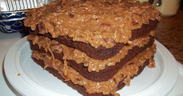 ... | German Chocolate Cakes, German Chocolate and Chocolate Cakes