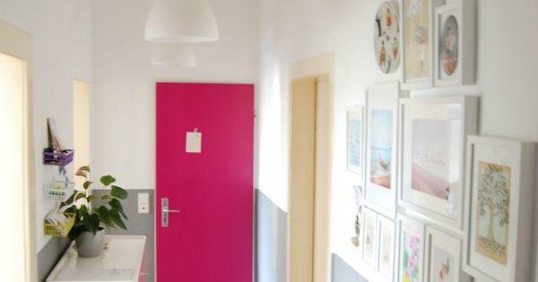 Verf voordeel maak van uw deur een echt eye catcher met deze felle kleur wooninspiratie eye - Interieurontwerp thuis kleur ...