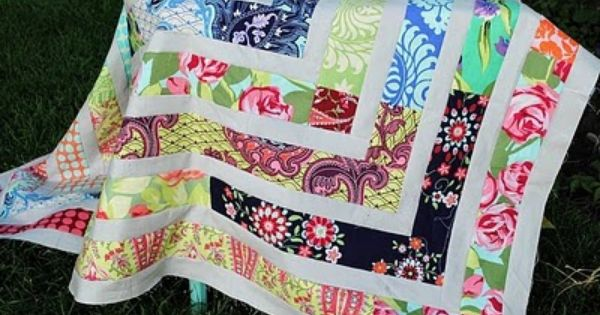 jelly roll quilt patterns | Hideaway Girl: Scrappy LOVE Jelly Roll Quilt