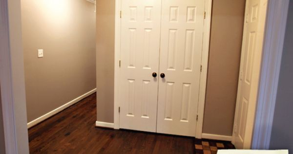 Foyer Closet Door : Foyer closet with double doors expand small closets