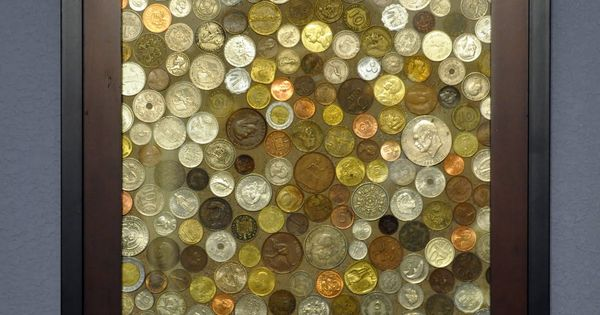 Coin Art - good idea for foreign coins I've collected
