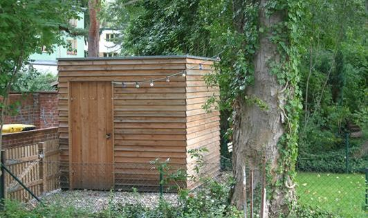bildergebnis f r ger teschuppen holz flachdach schuppen1 pinterest gardens backyard and. Black Bedroom Furniture Sets. Home Design Ideas
