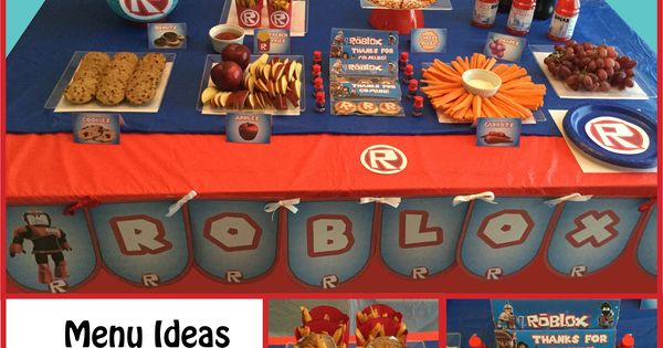 Great Ideas For A Roblox Themed Party All Party Supplies