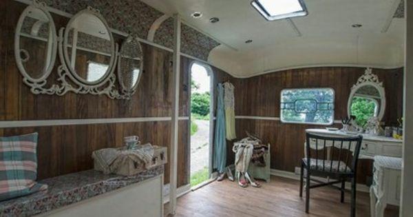 Esmerelda 39 s emporium of vanity converted caravan george clarke 39 s amazing spaces design ideas - Small spaces george clarke pict ...