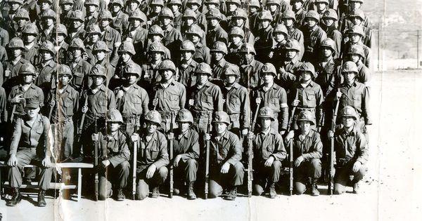 1964 camp pendleton h company 1st battalion 2nd infantry