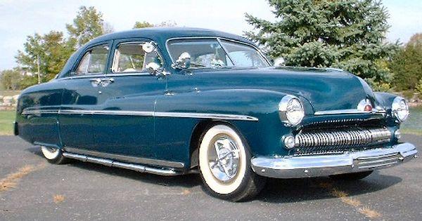 1951 Mercury Mercury Cars Custom Cars Mercury