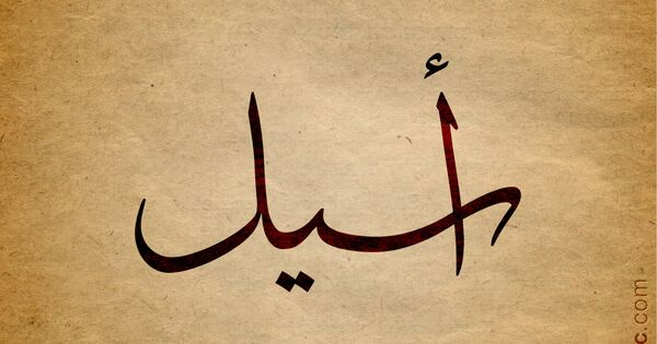 Aseel Name With Arabic Calligraphy Calligraphy Name Aesthetic Names Calligraphy Words