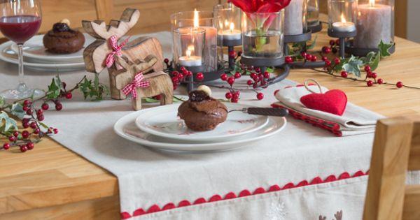 Christmas #Decoration table de fêtes chic  Décoration originale ...