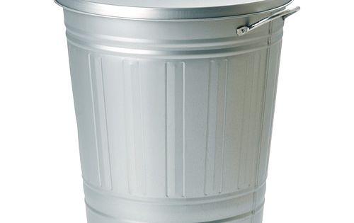 knodd poubelle blanc salle de bain sous sol poubelle et couvercle. Black Bedroom Furniture Sets. Home Design Ideas