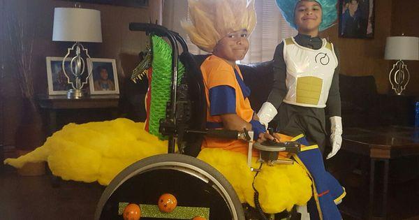 Goku Dragon Ball Z Halloween Costume Wheelchair Criancas