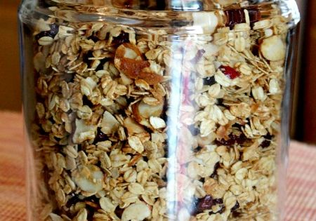 Easy Healthy Homemade Granola Recipe, use this master recipe to make your