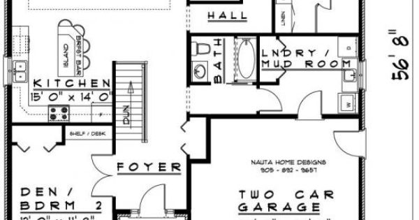Bungalow house plan bn795 nauta home designs home for Nauta home designs
