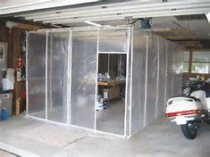 Diy Paint Booth Looks Like Plastic And Pvc Easy Up Down Fan