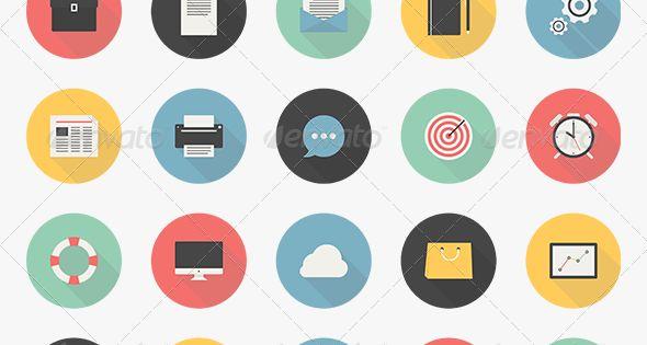 X Icon Business Icons Set   I...