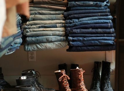Vintage (Denim and Boots). dream closet!