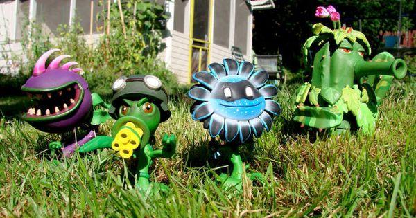 The Plants Vs Zombies Garden Warfare Action Figures Are Coming Plants Vs Zombies Warfare