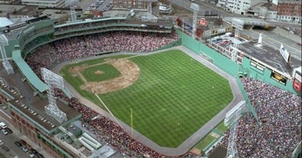 Aerial View Of Fenway Park Fenway Park Red Sox Baseball Park