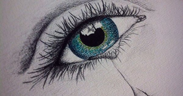 weinendes auge zeichnen zeichnen pinterest eye pencil drawing crying eyes and eye. Black Bedroom Furniture Sets. Home Design Ideas