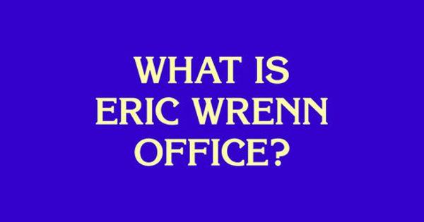 Eric Wrenn Office Eric Office Calm Artwork