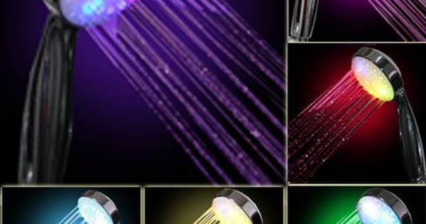 180 39 20 Inch Stainless Steel Shower Head With Color Changing Led Light Led Color Changing Lights Led Shower Head Brass Shower Head