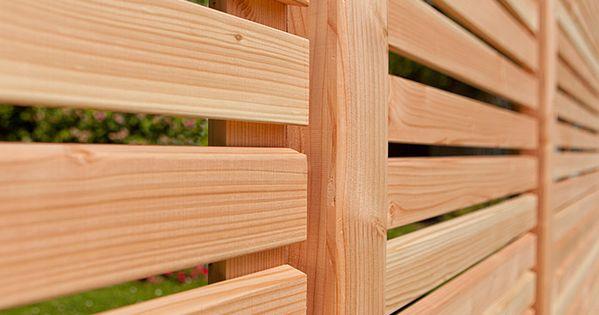 Kiehnholz Sichtschutz Halbelement Rhombus 89 X 179 Cm Natur Bauhaus Sichtschutz Gartensichtschutz Sichtschutz Garten