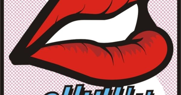 pop art lips ohhh!!! | Roy Lichtenstein & Superhero ...