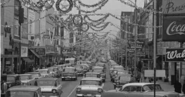 Christmas On 4th Street 1960s Louisville Ky Old Photos