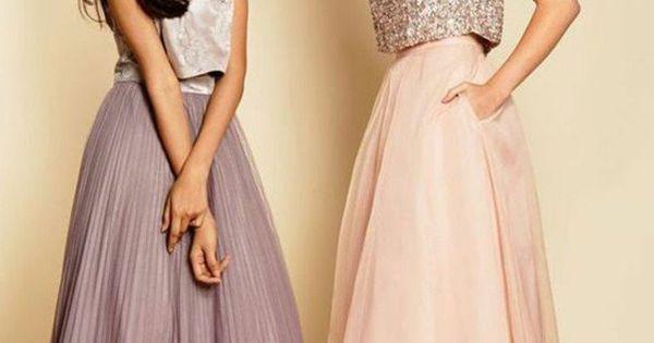 51 mod les de la robe de soir e pour mariage rose p le jupes longues et violettes. Black Bedroom Furniture Sets. Home Design Ideas