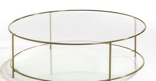Table basse ronde verre tremp sybil am pm prix avis - Table ronde verre trempe ...