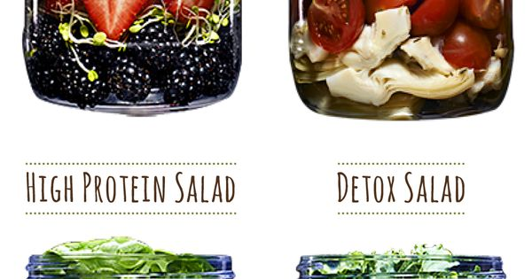 """30 Mason Jar Recipes: A Month Worth of """"Salad in a Jar"""""""