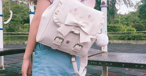 Kawaii Cat Bow Backpack Limited Edition | Girl backpacks