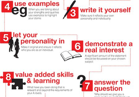 personal statement for ucas tips