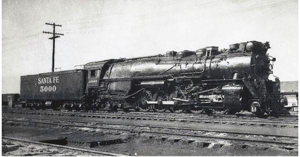2 10 4 Texas Type Locomotive Atchison Steam Trains