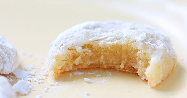 Chewy lemon drops! These are like lemon bars but in cookie form!
