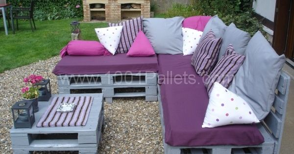 Furniture for daily life DSC05108 600×450 Pallets Garden Lounge ...