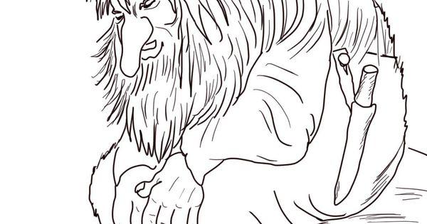 norwegian troll | super coloring | lineart: fantasy