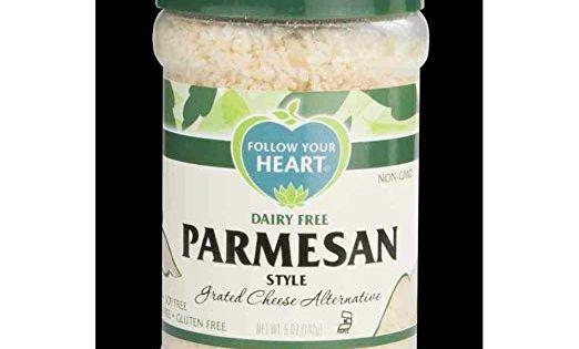 Siga Su Corazon Parmesan Estilo Grated Queso Alternativa 5 Oz 8 Por Funda Amazon Com Grocery Gourmet Food Vegan Cheese Dairy Free Cheese Vegan Parmesan