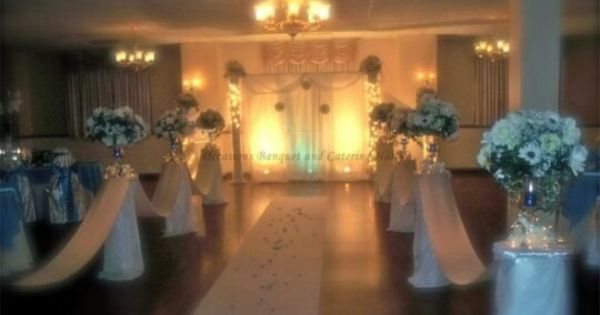 Ceremony And Reception In The Same Room Idea