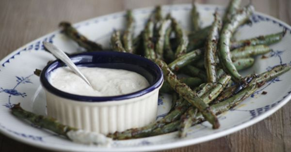 Grilled green beans, Summer recipes and Green beans on Pinterest