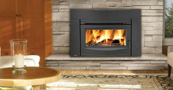 Napoleon contemporary epi3 cast iron epa wood burning Contemporary wood burning fireplace inserts