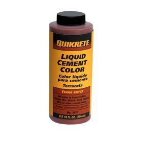 Quikrete 10 Oz Terracotta Cement Mix Color Cement Color House