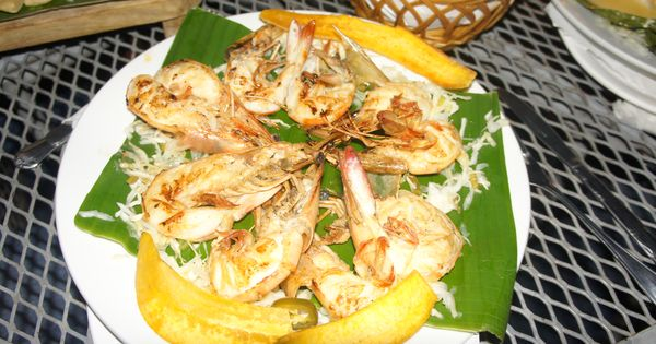 Gambas ala plancha. Grilled shrimp in El Salvador. | My Style ...