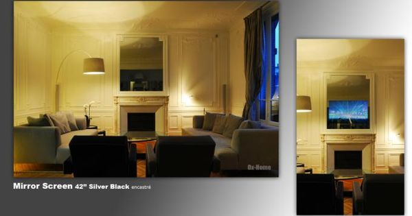 tv mirror hidden tv pinterest. Black Bedroom Furniture Sets. Home Design Ideas