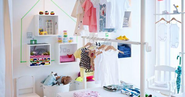 Display Of Children S Clothes Using Stolmen Storage