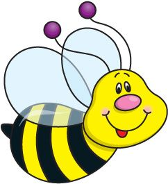 Bee Clipart 4 Free Bee Clip Art Drawings And Colorful Clipartwiz Bee Clipart Bee Pictures Clip Art
