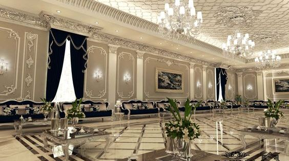 مجلس رجال راقي باللون الاسود وارضيات سيراميك مع تصميم سقف مختلف واضاءات عاليه Home Room Design Home Design Living Room Living Room Design Modern