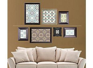 Picture Frame Lay Out Finishing Touches Hanging Tips Raymour