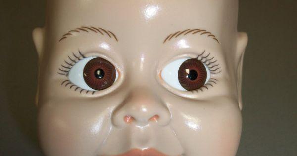 Syndee S Crafts Large Vinyl Doll Head Doll Head Vinyl