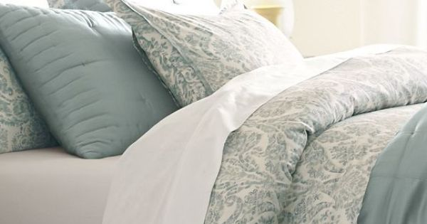 Pottery Barn D 233 Co Pinterest Blue Pottery Duvet